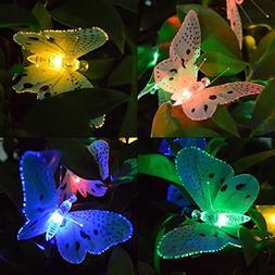 Ucharge Solar Power String Lights 12 LED Animal Design Multi