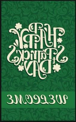 Saint Patricks Garden Yard Flag - St Patrick's Day Decor Gre