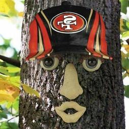 San Francisco 49ers NFL FOREST FACE Yard/Tree GARDEN Decorat