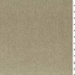 Sand/Beige JB Martin Herringbone Velvet Decorating Fabric, F