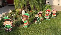 """Santa's Little Helpers"" - Christmas Elves Yard Decor - FREE"