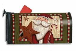 Santa Star Candy Cane Mailwrap Mail Box Wrap magnetic mailbo