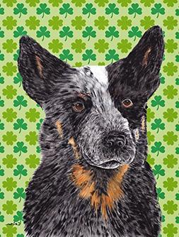 Caroline's Treasures SC9316CHF Australian Cattle Dog St. Pat