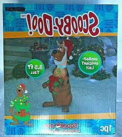 Scooby Doo Christmas Santa Light Up Gemmy Airblown Inflatabl