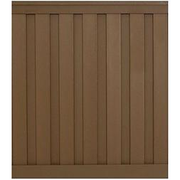 Trex Seclusions Fencing - 6 ft. x 6 ft. Saddle Brown Wood-Pl