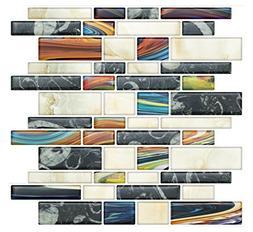 Self Stick Backsplash Wall Tile Bathroom & Kitchen Walls | S