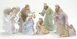 7-Piece Seraphim Classics Christmas Nativity Figure Set #789