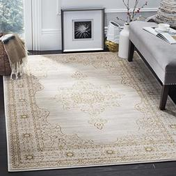 Safavieh Serenity Collection SER210A Cream and Gold Area Rug