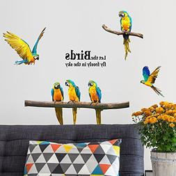 SWORNA Nature Series SN-60 6 Macaw Parrot Vinyl Removable DI