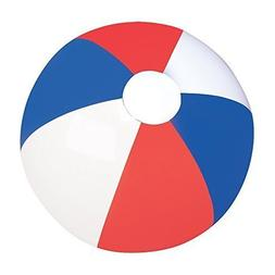 Set of Six  Inflatable Patriotic Beach Balls 12 / Party Favo