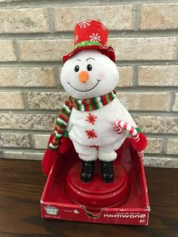GEMMY Shake Your Groove Thing SNOWMAN Sings Dances & Shakes