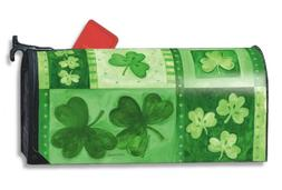 MailWraps Shamrock Collage Mailbox Cover #05815