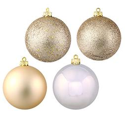 Vickerman Shatterproof Assorted Ball Ornaments Featuring Shi