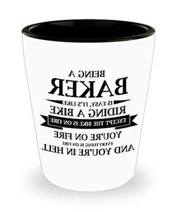 Best Shot Glass Coffee Mug-Baker Gifts Ideas for Men and Wom