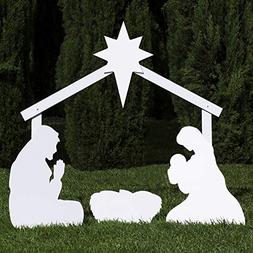 Outdoor Nativity Store Silhouette Outdoor Nativity Set - Hol