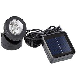 RockBirds SL006 Weatherproof Solar Energy Powered LED Spotli