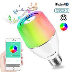 Texsens Smart Bluetooth Music Bulb E27 APP & Smart Light Con