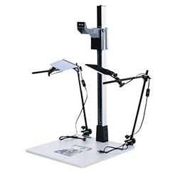 "Smith Victor Pro 42"" Copy Stand Kit with LED Light Kit"