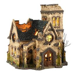 Department 56 Snow Village Halloween The Haunted Church Lit