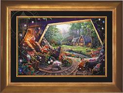 """Snow White and the Seven Dwarfs - Thomas Kinkade Disney 18"""""""