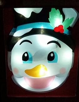 Snowman Christmas Hanging Animated Greeter Holiday Decoratio