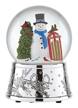 Reed & Barton Snowmen & Sleigh - Snowglobe