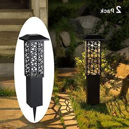 Maggift 12 Lumens 28 Inch Solar Garden Lights Outdoor Solar