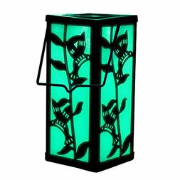Christmas Hanging Lantern Solar Hummingbird Color Changing D