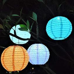 Outdoor Solar Hanging Lantern Lights LED Decorative Lamp for