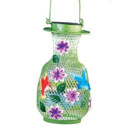 LED Solar Hummingbird Outdoor Garden Lantern