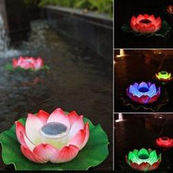 Solar Lamp Outdoor LED Light Changing Color Pool Yard Pond G