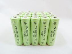 Solar Light AA Ni-Mh 600mAh Rechargable Batteries