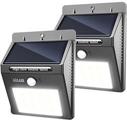 BAXIA TECHNOLOGY Solar Lights, Wireless Waterproof Solar Mot