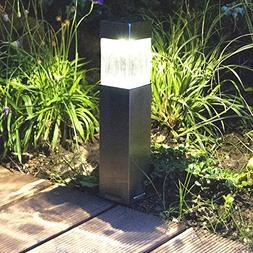 Sogrand Solar Lights Outdoor,2pcs-Pack Satinless Steel,Solar