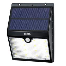 Amir Solar Motion Sensor Lights, 16 LED Outdoor Bright Light