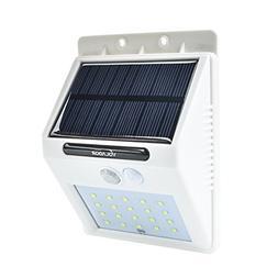 VOLADOR Best Solar Path Lights,20 LEDs Solar Wall Mount Ligh