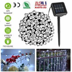 Solar Power 50 LED Party Xmas String Fairy Light Outdoor Gar