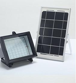 BIZLANDER Solar Powered Flood Light 5W 60LED 874 Lumens Secu