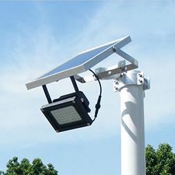 Solar Powered Floodlight/ Spotlight, Outdoor Waterproof Secu
