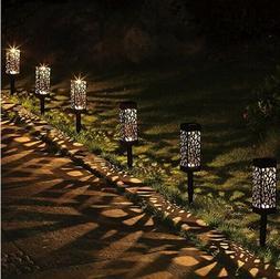 Solar Powered LED Garden Lights, Automatic Led for Patio, Ya