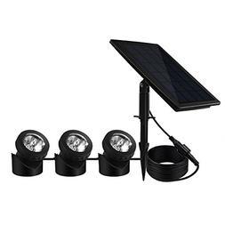 Solar Powered Pond Light Waterproof IP68, BeneStellar 18 LED