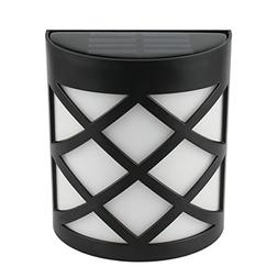 Solar Powered LED Wall Light Waterproof Color Changing Fence