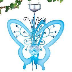 Solar Spinner Butterfly Mobile