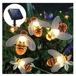 SEMILITS Solar String Lights 20LED Outdoor Waterproof Simula