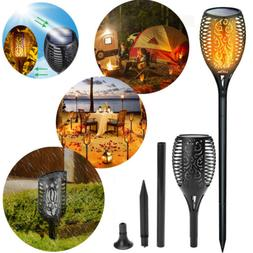 Solar Waterproof LED Flickering Flame Torch Yard Light Lands