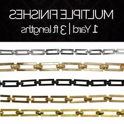 Solid Brass Decorative Geometric Chandelier Lighting Chain #