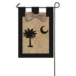 Evergreen Flag & Garden South Carolina Garden Flag