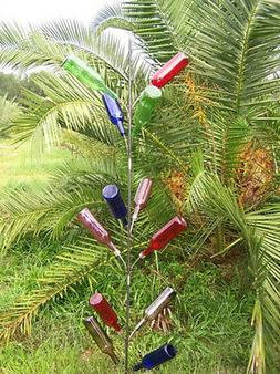 SOUTHERN 6 Ft  Wine Bottle tree country classic art decor ya