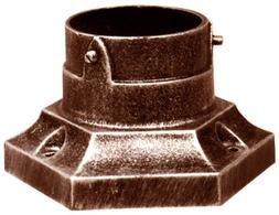 Special Lite Products SPB-170-CP Aluminum Stub Post Base, Co