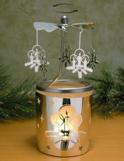 Spinning Christmas Candles Candle Holder Scandinavian Design